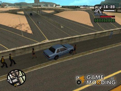 Новые дороги в Лас Вентурасе для GTA San Andreas