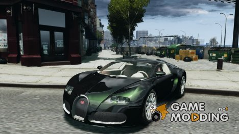 Bugatti Veyron beta for GTA 4