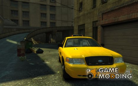 2011 Ford Crown Victoria NYC Taxi для GTA 4