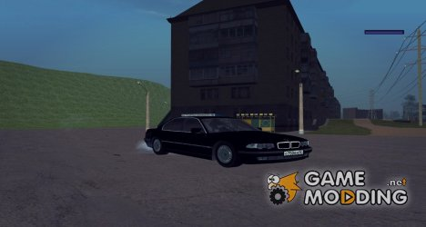 BMW 750iL E38 2001 for GTA San Andreas