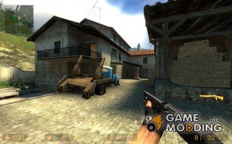 Gold M3 Shotgun for Counter-Strike Source