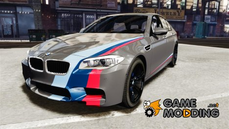 BMW M5 F10 2012 M Stripes для GTA 4
