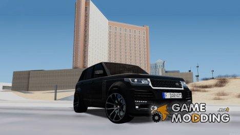 Range Rover Vogue Lumma Stratech для GTA San Andreas