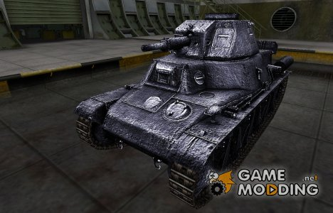 Темный скин для PzKpfw 38H 735 (f) для World of Tanks