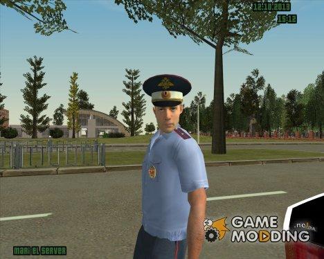 Русский сотрудник ДПС for GTA San Andreas