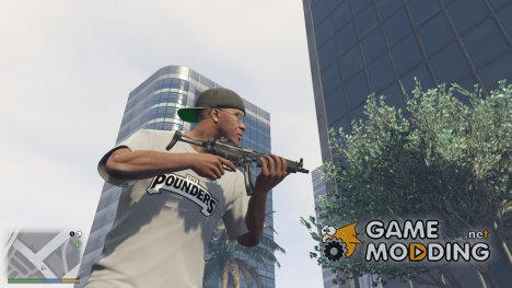 PAYDAY 2 MP5A5 1.9.1 для GTA 5