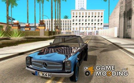 Mercedes-Benz 280SL (глянцевый) for GTA San Andreas