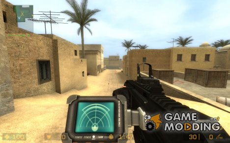 ACR/heartbeat sensor/Reddot for Counter-Strike Source
