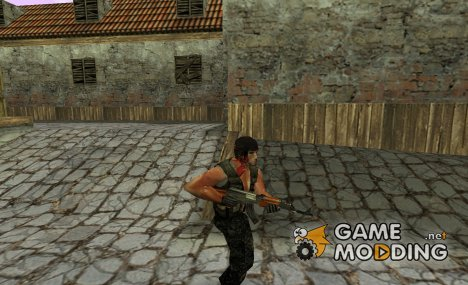 John Rambo для Counter-Strike 1.6