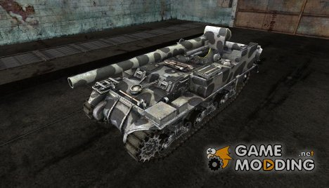 Шкурка для M12 for World of Tanks