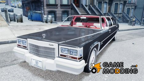 Cadillac Fleetwood Limousine 1985 for GTA 4