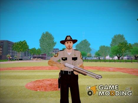 Rick Grimes (Ходячие мертвецы) для GTA San Andreas