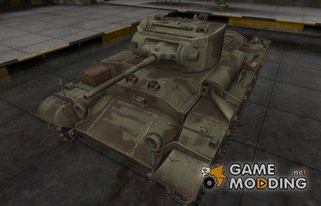 Пустынный скин для Valentine для World of Tanks