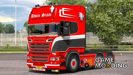Scania R520 Adwin Stam for Euro Truck Simulator 2