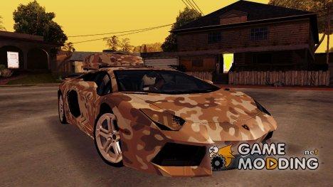 Lamborghini Aventador LP 700-4 for GTA San Andreas