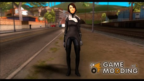 Ann Bryson from Mass Effect 3 for GTA San Andreas