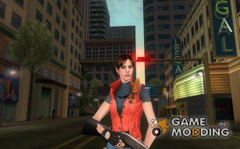 Клэр Рэдфилд из Resident Evil v2 для GTA San Andreas