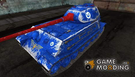 Шкурка для VK4502(P) Ausf B Ультрамарины for World of Tanks