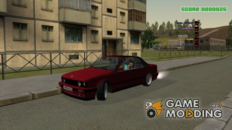 BMW E30 325i 1989 Cabrio for GTA San Andreas