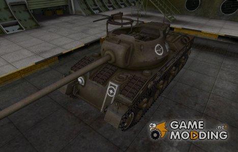 Зоны пробития контурные для T28 Prototype для World of Tanks