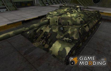 Скин для ИС-3 с камуфляжем для World of Tanks