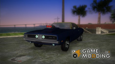 Dodge Charger RT - Street Drag 1969 for GTA Vice City