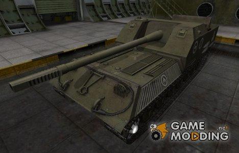 Зоны пробития контурные для Объект 263 для World of Tanks
