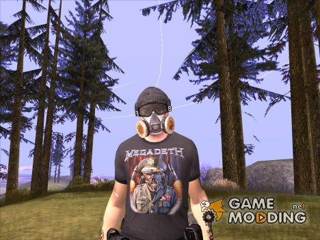 Post Apocalypse Warrior для GTA San Andreas