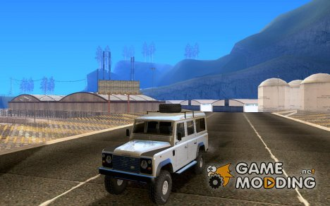 Land Rover Defender Safary для GTA San Andreas