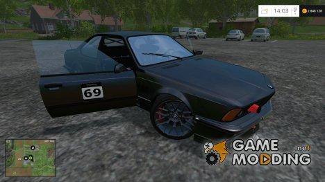 BMW E24 M635 CSi v 1.0 for Farming Simulator 2015