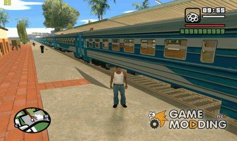 Пак Советских поездов for GTA San Andreas