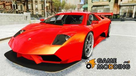 Lamborghini Murcielago RSV FIA GT 1 v1 для GTA 4