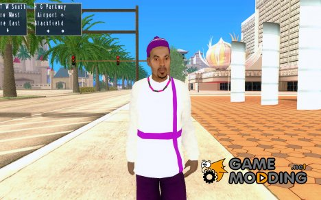 The Ballas Gang (ballas1) для GTA San Andreas