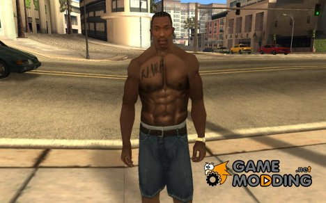 N.W.A Tattoo for GTA San Andreas