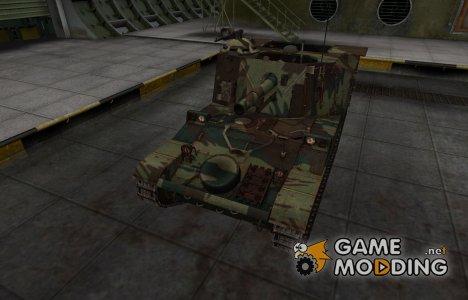 Французкий новый скин для AMX 13 105 AM mle. 50 for World of Tanks