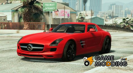 Mercedes-Benz SLS AMG Coupe v1.3 for GTA 5