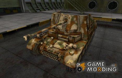 Исторический камуфляж Marder II for World of Tanks