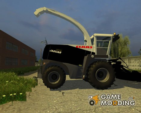 Claas Jaguar 980 Black Edition v2.0 for Farming Simulator 2013