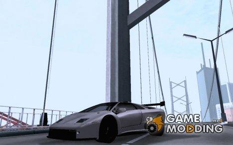 "Lamborghini Diablo GTR ""TT Black Revel"" для GTA San Andreas"