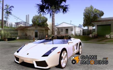Lamborghini Concept S v2.0 for GTA San Andreas