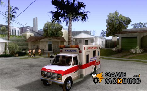 Ford Econoline Ambulance for GTA San Andreas