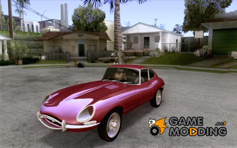 Jaguar E-Type Coupe for GTA San Andreas