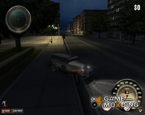 Falconer taxi - bright light (beta version) для Mafia: The City of Lost Heaven