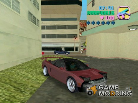 Honda NSX 1991 для GTA Vice City