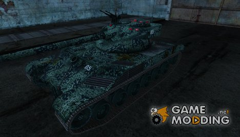 Шкурка для Bat Chatillon 25t №20 для World of Tanks