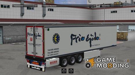 FrioEjido Lecitrailer для Euro Truck Simulator 2