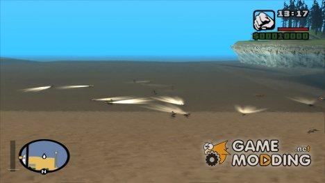 Люди плавают на всех пляжах для GTA San Andreas