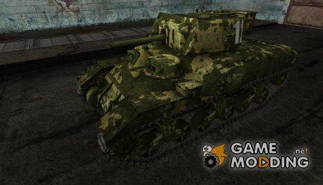 Шкурка для Ram-II для World of Tanks