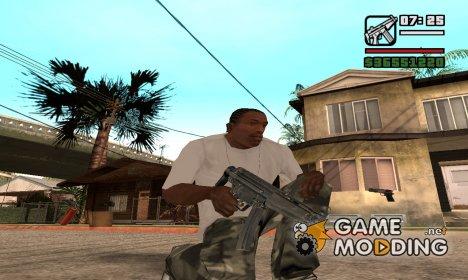 MP5 for GTA San Andreas