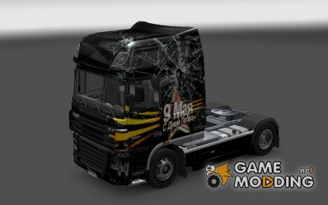 Скин 9 мая для DAF XF for Euro Truck Simulator 2